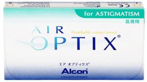 Przykład soczewek torycznych - Air Optix for Astigmatism